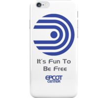 "World of Motion ""It's Fun To Be Free"" iPhone Case/Skin"