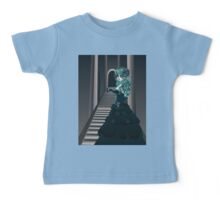 Day of the Dead Girl in Crypt Baby Tee