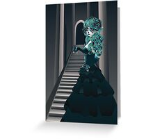 Day of the Dead Girl in Crypt Greeting Card