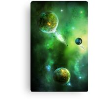 Greenday Space Canvas Print