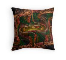 A Twist Of Escher Throw Pillow