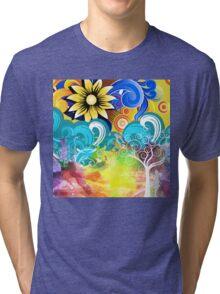 Heart Heart Love Love Tri-blend T-Shirt