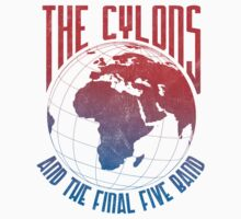 The Cylons and The Final Five Band by gaseousclay