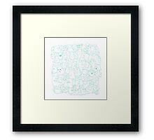 Most Ghost (blue) Framed Print