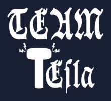 Team Tesla-Inverted Kids Clothes