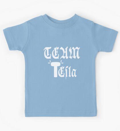 Team Tesla-Inverted Kids Tee