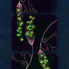 Neon Flowers by Rootedbeauty