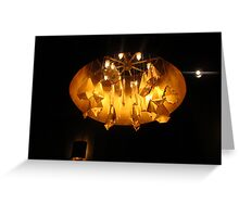 Faux Chandelier Greeting Card