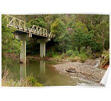 Thomson River Bridge Poster