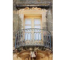 A beautiul traditional window of Gozo Photographic Print