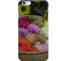 Wool Dyed with Natural Materials iPhone Case/Skin