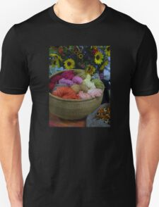 Wool Dyed with Natural Materials Unisex T-Shirt