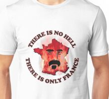 Frank Zappa on France Unisex T-Shirt