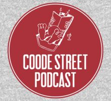 Coode Street Podcast (red) Kids Clothes