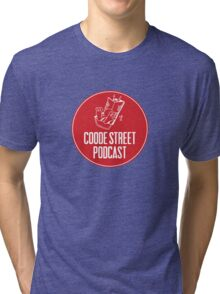 Coode Street Podcast (red) Tri-blend T-Shirt