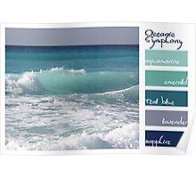 Oceanic symphony Poster