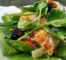 Fiery Blackberry Chicken Salad by LovelySouthern