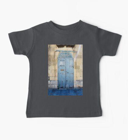Blue weathered door Baby Tee