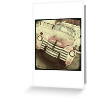 Rusting Away Greeting Card