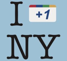 I +1 NY - Google Parody T-Shirt by Brother Adam