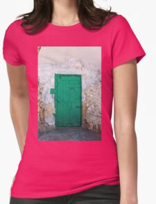 Green Door of Gozo Womens Fitted T-Shirt