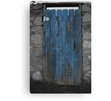 A Bit of Blue in an otherwise plain world Canvas Print