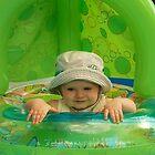 I love the pool!  by Gina Kaye