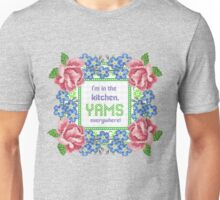 In the kitchen yams everywhere 2 chainz floral embroidery Unisex T-Shirt