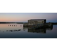 okarito lagoon south westland nz Photographic Print