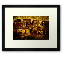 Neighbourhood Framed Print