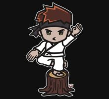 Martial Arts/Karate Boy - Crane one-legged stance Kids Clothes