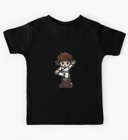 Martial Arts/Karate Boy - Crane one-legged stance Kids Tee