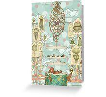Floating Dreams1 Greeting Card