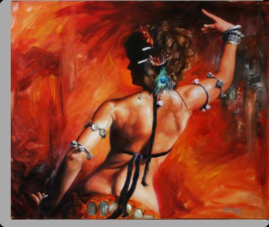 Dancing with Scarlet by Matt Abraxas