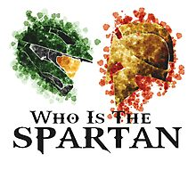 Who is the spartan  Photographic Print