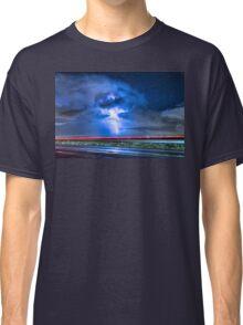 Alien Power Line Explosion Classic T-Shirt