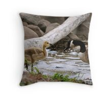 Knock it Off! Throw Pillow