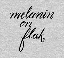 Melanin on Fleek Womens Fitted T-Shirt