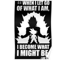 Lao Tzu Quote - Goku Super Saiyan Poster
