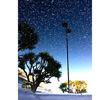 Snow in August Photographic Print