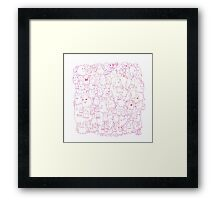 Most Ghost (pink) Framed Print