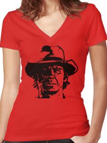 Harmonica Women's Fitted V-Neck T-Shirt