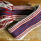 Hand-woven belt / Recznie tkany pas by tatsu