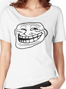 Trollface Women's Relaxed Fit T-Shirt