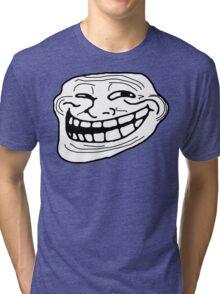 Trollface Tri-blend T-Shirt