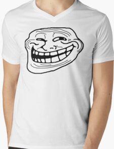 Trollface Mens V-Neck T-Shirt