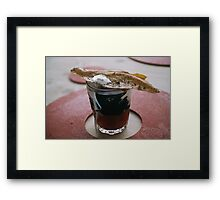Comforting Soup Framed Print
