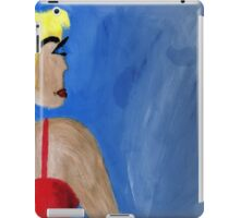 Drawing woman iPad Case/Skin