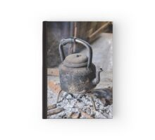 old pot on fire Hardcover Journal