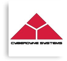 Cyberdyne Logo Design #2 Canvas Print